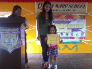 with Teacher Merly