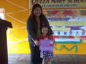 with the School Directress